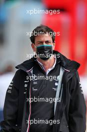 Toto Wolff (GER) Mercedes AMG F1 Shareholder and Executive Director. 09.08.2020. Formula 1 World Championship, Rd 5, 70th Anniversary Grand Prix, Silverstone, England, Race Day.