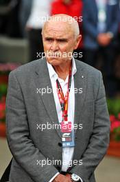 Paul Little (AUS) Chair of Australian Grand Prix Corporation, at an outdoor press conference following the cancellation of the Australian Grand Prix. 13.03.2020. Formula 1 World Championship, Rd 1, Australian Grand Prix, Albert Park, Melbourne, Australia, Practice Day.