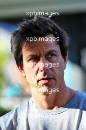 Toto Wolff (GER) Mercedes AMG F1 Shareholder and Executive Director. 12.03.2020. Formula 1 World Championship, Rd 1, Australian Grand Prix, Albert Park, Melbourne, Australia, Preparation Day.
