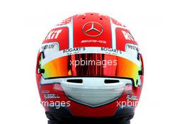 The helmet of George Russell (GBR) Williams Racing. 12.03.2020. Formula 1 World Championship, Rd 1, Australian Grand Prix, Albert Park, Melbourne, Australia, Preparation Day.