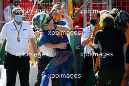 Lando Norris (GBR), McLaren F1 Team and Zak Brown (USA), McLaren F1 Team Executive Director  05.07.2020. Formula 1 World Championship, Rd 1, Austrian Grand Prix, Spielberg, Austria, Race Day.