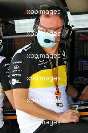 Alan Permane (GBR) Renault F1 Team Trackside Operations Director. 04.07.2020. Formula 1 World Championship, Rd 1, Austrian Grand Prix, Spielberg, Austria, Qualifying Day.