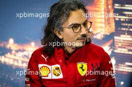 Laurent Mekies (FRA) Ferrari Sporting Director in the FIA Press Conference. 21.02.2020. Formula One Testing, Day Three, Barcelona, Spain. Friday.