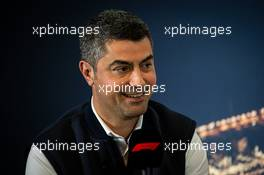 Michael Masi (AUS) FIA Race Director in the FIA Press Conference. 21.02.2020. Formula One Testing, Day Three, Barcelona, Spain. Friday.
