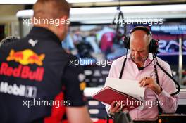 Adrian Newey (GBR) Red Bull Racing Chief Technical Officer. 20.02.2020. Formula One Testing, Day Two, Barcelona, Spain. Thursday.