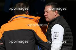 Zak Brown (USA), McLaren F1 Team Executive Director  28.02.2020. Formula One Testing, Day Three, Barcelona, Spain. Friday.