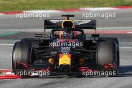 Alexander Albon (THA), Red Bull Racing  28.02.2020. Formula One Testing, Day Three, Barcelona, Spain. Friday.