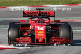 Charles Leclerc (FRA), Scuderia Ferrari  28.02.2020. Formula One Testing, Day Three, Barcelona, Spain. Friday.