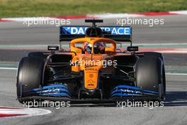 Carlos Sainz Jr (ESP), McLaren F1 Team  28.02.2020. Formula One Testing, Day Three, Barcelona, Spain. Friday.