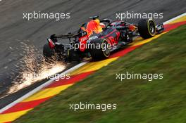 Max Verstappen (NLD) Red Bull Racing RB16. 28.08.2020. Formula 1 World Championship, Rd 7, Belgian Grand Prix, Spa Francorchamps, Belgium, Practice Day.