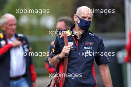 Adrian Newey (GBR) Red Bull Racing Chief Technical Officer. 28.08.2020. Formula 1 World Championship, Rd 7, Belgian Grand Prix, Spa Francorchamps, Belgium, Practice Day.