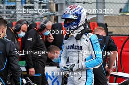 Nicholas Latifi (CDN) Williams Racing on the grid. 30.08.2020. Formula 1 World Championship, Rd 7, Belgian Grand Prix, Spa Francorchamps, Belgium, Race Day.