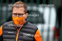 Andreas Seidl, McLaren Managing Director. 29.08.2020. Formula 1 World Championship, Rd 7, Belgian Grand Prix, Spa Francorchamps, Belgium, Qualifying Day.