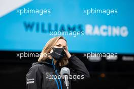 Claire Williams (GBR) Williams Racing Deputy Team Principal. 29.08.2020. Formula 1 World Championship, Rd 7, Belgian Grand Prix, Spa Francorchamps, Belgium, Qualifying Day.