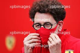 Mattia Binotto (ITA) Ferrari Team Principal. 29.08.2020. Formula 1 World Championship, Rd 7, Belgian Grand Prix, Spa Francorchamps, Belgium, Qualifying Day.