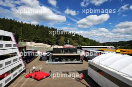 Paddock atmosphere. 27.08.2020. Formula 1 World Championship, Rd 7, Belgian Grand Prix, Spa Francorchamps, Belgium, Preparation Day.