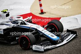 Nicholas Latifi (CDN) Williams Racing FW43. 27.11.2020. Formula 1 World Championship, Rd 15, Bahrain Grand Prix, Sakhir, Bahrain, Practice Day
