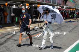 Pierre Gasly (FRA) AlphaTauri. 16.08.2020. Formula 1 World Championship, Rd 6, Spanish Grand Prix, Barcelona, Spain, Race Day.