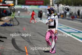 Sergio Perez (MEX) Racing Point F1 Team. 16.08.2020. Formula 1 World Championship, Rd 6, Spanish Grand Prix, Barcelona, Spain, Race Day.