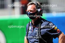 Christian Horner (GBR) Red Bull Racing Team Principal on the grid. 16.08.2020. Formula 1 World Championship, Rd 6, Spanish Grand Prix, Barcelona, Spain, Race Day.