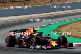 Max Verstappen (NLD) Red Bull Racing RB16. 16.08.2020. Formula 1 World Championship, Rd 6, Spanish Grand Prix, Barcelona, Spain, Race Day.