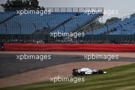 Nicholas Latifi (CDN) Williams Racing FW43 spins in the second practice session. 31.07.2020. Formula 1 World Championship, Rd 4, British Grand Prix, Silverstone, England, Practice Day.