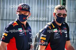 Max Verstappen (NLD) Red Bull Racing. 31.07.2020. Formula 1 World Championship, Rd 4, British Grand Prix, Silverstone, England, Practice Day.