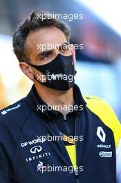 Cyril Abiteboul (FRA) Renault Sport F1 Managing Director. 01.08.2020. Formula 1 World Championship, Rd 4, British Grand Prix, Silverstone, England, Qualifying Day.