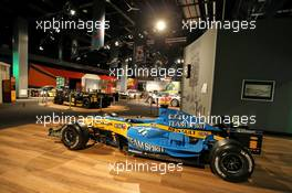 Circuit atmosphere - track museum - Renault F1 Team. 09.10.2020. Formula 1 World Championship, Rd 11, Eifel Grand Prix, Nurbugring, Germany, Practice Day.