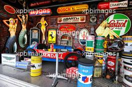 Circuit atmosphere - track museum. 09.10.2020. Formula 1 World Championship, Rd 11, Eifel Grand Prix, Nurbugring, Germany, Practice Day.