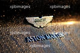 Aston Martin car - logo. 09.10.2020. Formula 1 World Championship, Rd 11, Eifel Grand Prix, Nurbugring, Germany, Practice Day.