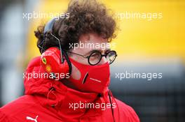 Mattia Binotto (ITA) Ferrari Team Principal on the grid. 11.10.2020. Formula 1 World Championship, Rd 11, Eifel Grand Prix, Nurbugring, Germany, Race Day.