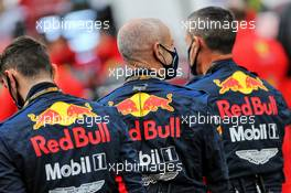 Red Bull Racing on the grid. 11.10.2020. Formula 1 World Championship, Rd 11, Eifel Grand Prix, Nurbugring, Germany, Race Day.