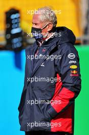 Dr Helmut Marko (AUT) Red Bull Motorsport Consultant on the grid. 11.10.2020. Formula 1 World Championship, Rd 11, Eifel Grand Prix, Nurbugring, Germany, Race Day.