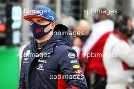 Max Verstappen (NLD) Red Bull Racing on the grid. 11.10.2020. Formula 1 World Championship, Rd 11, Eifel Grand Prix, Nurbugring, Germany, Race Day.