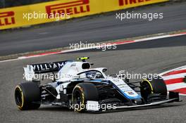 Nicholas Latifi (CDN) Williams Racing FW43. 11.10.2020. Formula 1 World Championship, Rd 11, Eifel Grand Prix, Nurbugring, Germany, Race Day.