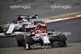 Antonio Giovinazzi (ITA) Alfa Romeo Racing C39. 11.10.2020. Formula 1 World Championship, Rd 11, Eifel Grand Prix, Nurbugring, Germany, Race Day.