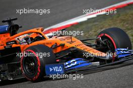 Carlos Sainz Jr (ESP) McLaren MCL35. 10.10.2020. Formula 1 World Championship, Rd 11, Eifel Grand Prix, Nurbugring, Germany, Qualifying Day.