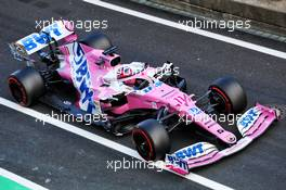 Sergio Perez (MEX) Racing Point F1 Team RP19. 10.10.2020. Formula 1 World Championship, Rd 11, Eifel Grand Prix, Nurbugring, Germany, Qualifying Day.