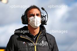 Cyril Abiteboul (FRA) Renault Sport F1 Managing Director. 11.10.2020. Formula 1 World Championship, Rd 11, Eifel Grand Prix, Nurbugring, Germany, Race Day.