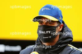 Daniel Ricciardo (AUS) Renault F1 Team. 08.10.2020. Formula 1 World Championship, Rd 11, Eifel Grand Prix, Nurbugring, Germany, Preparation Day.