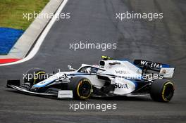 Nicholas Latifi (CDN) Williams Racing FW43. 19.07.2020. Formula 1 World Championship, Rd 3, Hungarian Grand Prix, Budapest, Hungary, Race Day.