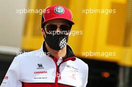 Antonio Giovinazzi (ITA) Alfa Romeo Racing. 16.07.2020. Formula 1 World Championship, Rd 3, Hungarian Grand Prix, Budapest, Hungary, Preparation Day.