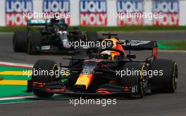 Max Verstappen (NLD) Red Bull Racing RB16. 01.11.2020. Formula 1 World Championship, Rd 13, Emilia Romagna Grand Prix, Imola, Italy, Race Day.