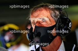 Alain Prost (FRA) Renault F1 Team Non-Executive Director. 04.09.2020. Formula 1 World Championship, Rd 8, Italian Grand Prix, Monza, Italy, Practice Day.