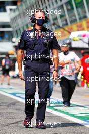 Christian Horner (GBR) Red Bull Racing Team Principal on the grid. 06.09.2020. Formula 1 World Championship, Rd 8, Italian Grand Prix, Monza, Italy, Race Day.