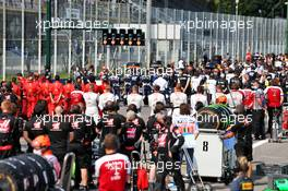 Grid atmosphere. 06.09.2020. Formula 1 World Championship, Rd 8, Italian Grand Prix, Monza, Italy, Race Day.