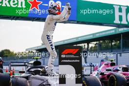 Race winner Pierre Gasly (FRA) AlphaTauri AT01 celebrates in parc ferme. 06.09.2020. Formula 1 World Championship, Rd 8, Italian Grand Prix, Monza, Italy, Race Day.