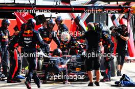 Max Verstappen (NLD) Red Bull Racing RB16 retired from the race. 06.09.2020. Formula 1 World Championship, Rd 8, Italian Grand Prix, Monza, Italy, Race Day.