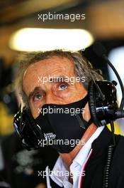 Alain Prost (FRA) Renault F1 Team Non-Executive Director. 23.10.2020. Formula 1 World Championship, Rd 12, Portuguese Grand Prix, Portimao, Portugal, Practice Day.